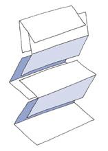 Skladané papierové uteráky typu Z&Z