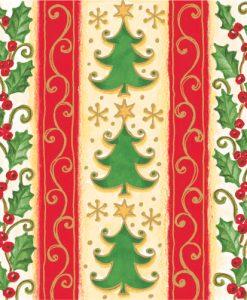 Papierové obrúsky ROY 40x40cm Vianoce