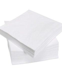 Papierové Obrúsky 2-vrstvové BIELE
